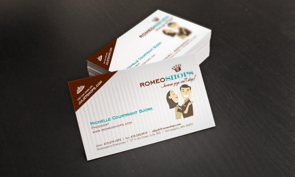 Romeoshops.com Business Cards