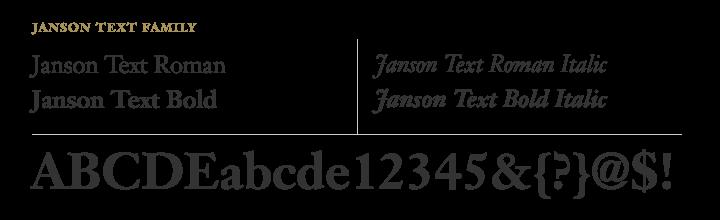 Jason Text typeface