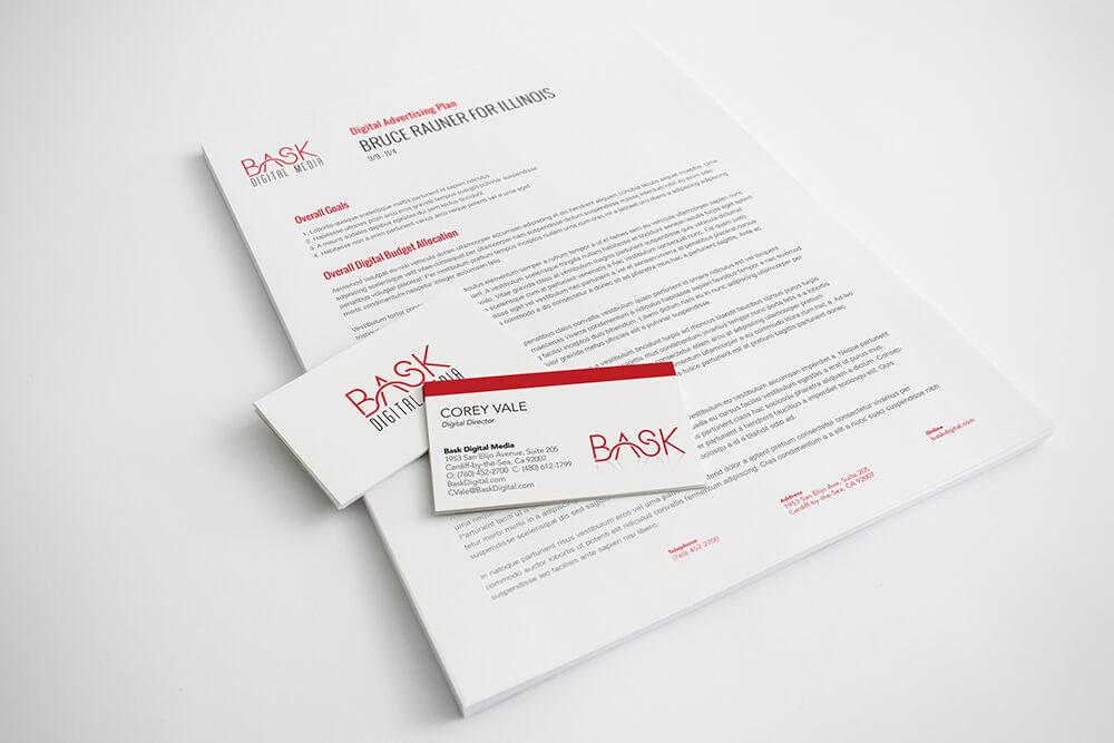 Bask Digital Stationery
